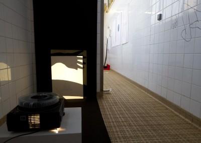 Biennale de Gentilly - accrochage - photo D. Martigne