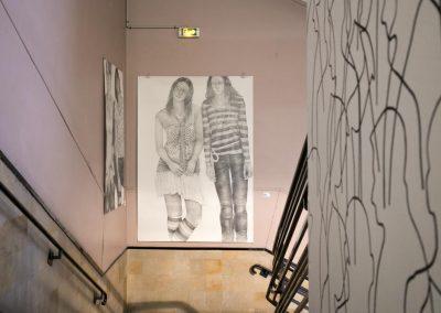 Carole Chapé et Diana Quinby à la Biennale de Gentilly