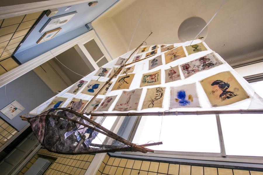Magda Moraczewska installation Biennale de Gentilly
